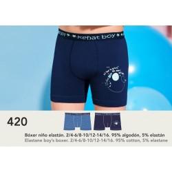 PACK BOY'S BOXER 3 UNITS 420