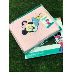 CAPA BAÑO MINNIE 70X70