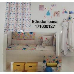 EDREDON Y PROTECTOR CUNA HAPPY 60X125 171000127