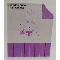 EDREDON Y PROTECTOR CUNA 60X125 NINTTE 171102001