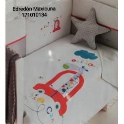EDREDON Y PROTECTOR MAXICUNA 72X142 BIG CAR 171010134