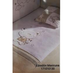 EDREDON Y PROTECTOR MAXICUNA 72X142 OSITO STAR 171010130