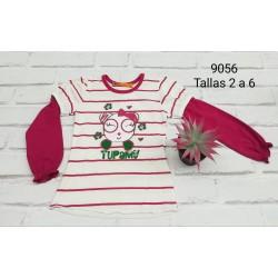 CAMISETA INFANTIL NIÑA 134109056