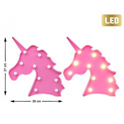 UNICORNIO DE LUZ LED 27X26X3 191162482