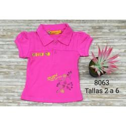 CAMISETA INFANTIL NIÑA 114008063