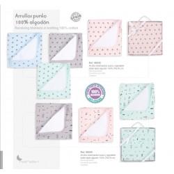 ARRULLO MED ESTRELLA 78X78 AZUL 202098042
