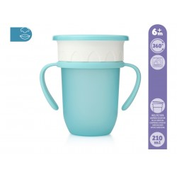 TAZA STEP 210 ML AZUL 201102769
