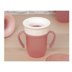 TAZA STEP 210 ML ROSA 201102770