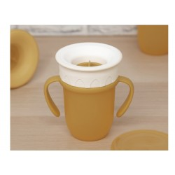 TAZA STEP 210 ML AMARILLO 201102847