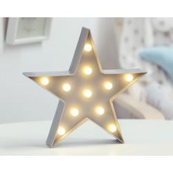 ESTRELLA LED 27.5X27.5X4.5 201102861