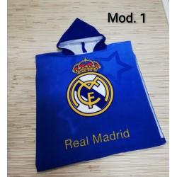PONCHO REAL MADRID 55X110 182071119