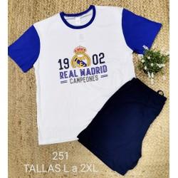 PIJAMA REAL MADRID 195000251