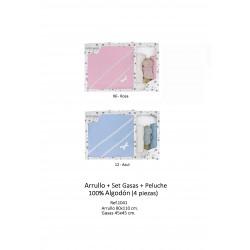 ARRULLO CON SET DE GASAS Y PELUCHE 211001041