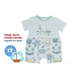 PELELE BEBE RECIEN NACIDO CORTO 211000170