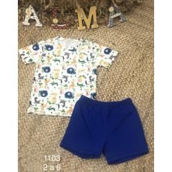 PIJAMA INFANTIL NIÑO ALMA 215001103