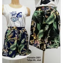 PANTALON CORTO MUJER 218502001