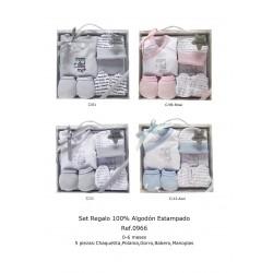 SET REGALO ALGODON 5 PIEZAS 211000966