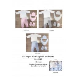 SET REGALO 5 PIEZAS ALGODON 211100984