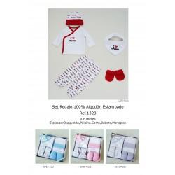 SET REGALO 5 PIEZAS ALGODON 181101328