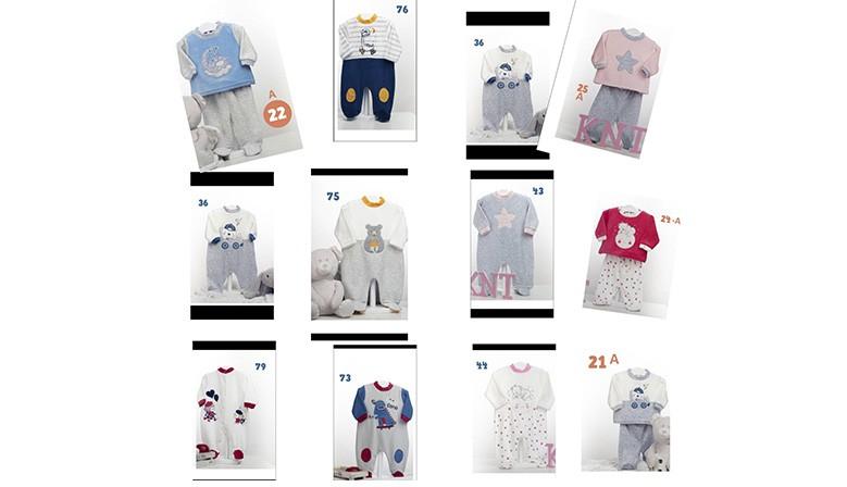 pijamas bebe invierno 2020